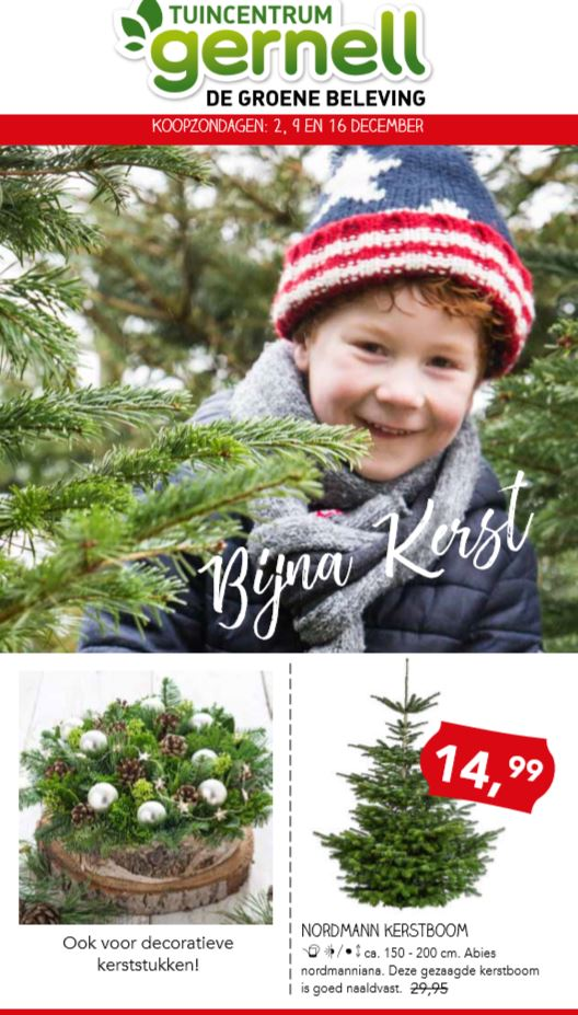 Kerstshow Kersttrend Folder Tuincentrum Gernell Lemmer Rutten