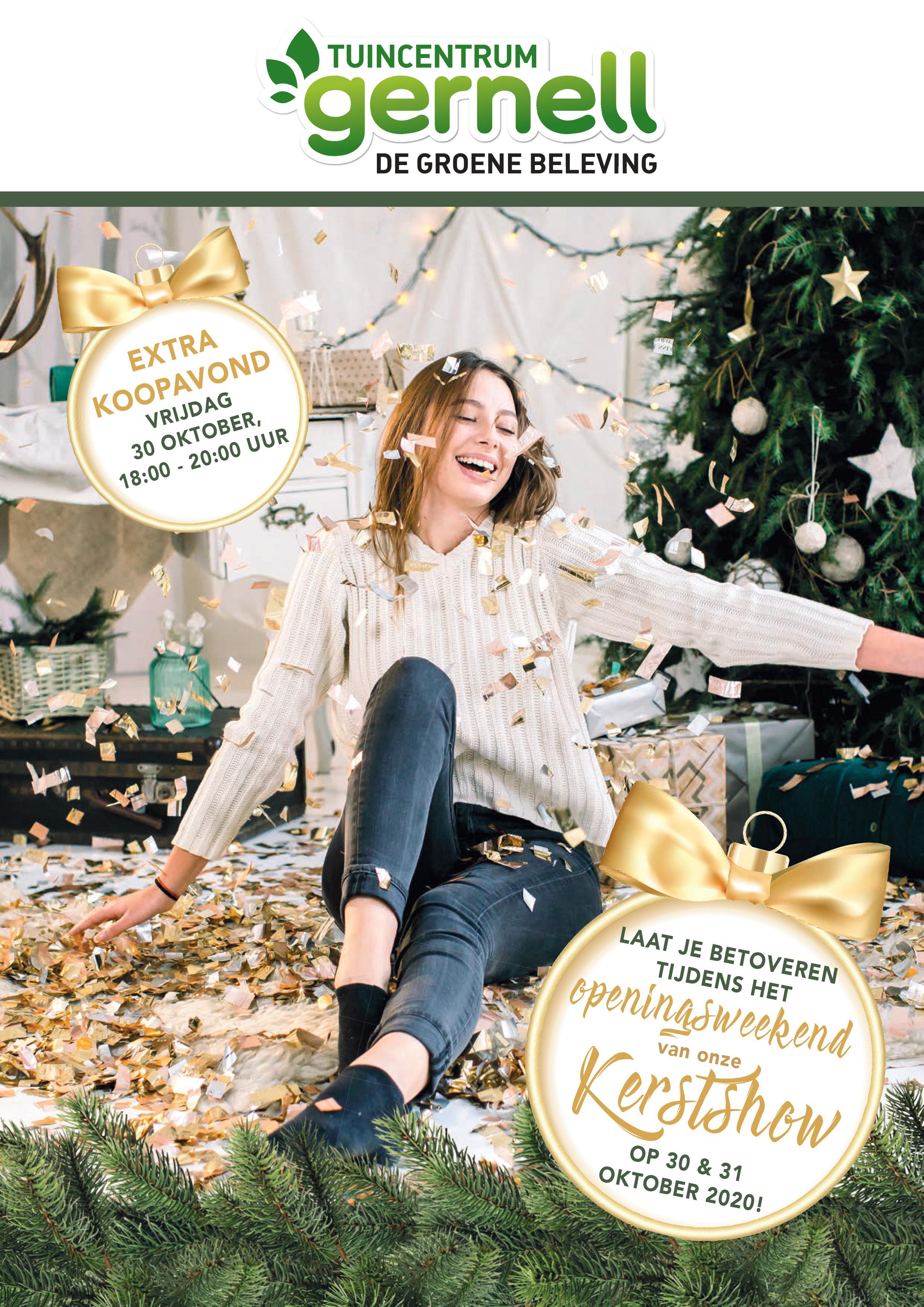 Openingsweekend Kerstshow Tuincentrum Gernell Rutten Lemmer
